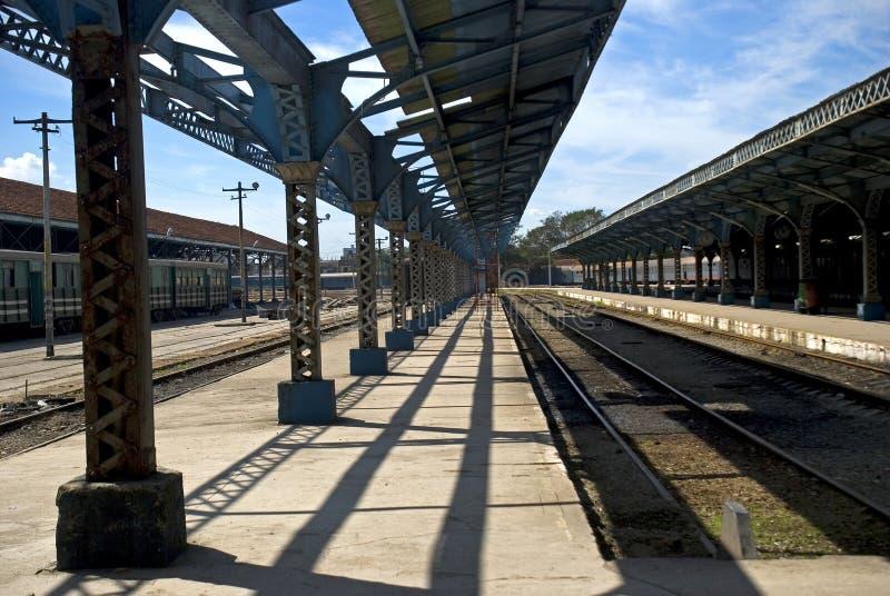 火车站,哈瓦那,古巴 免版税库存照片