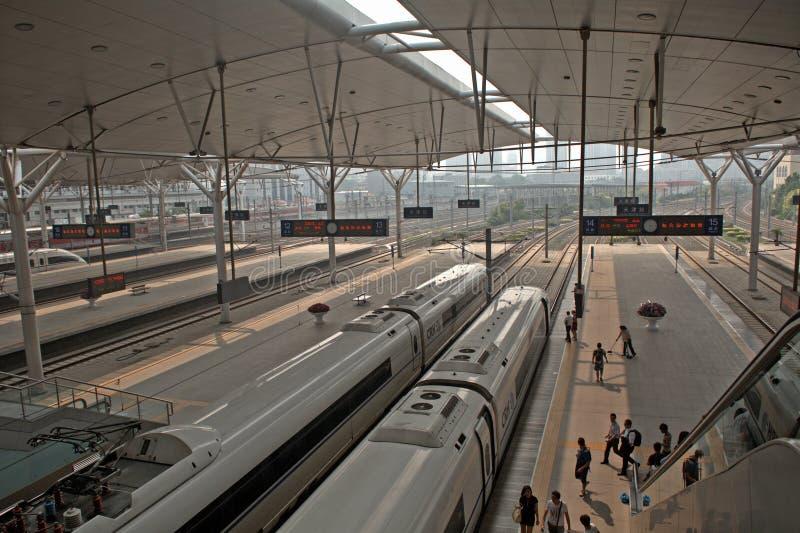 火车站,天津,中国 图库摄影