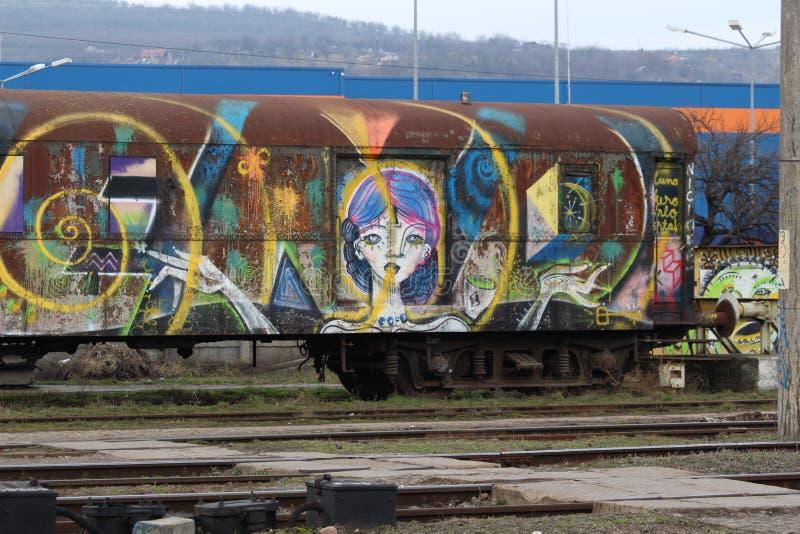 火车第2 库存图片