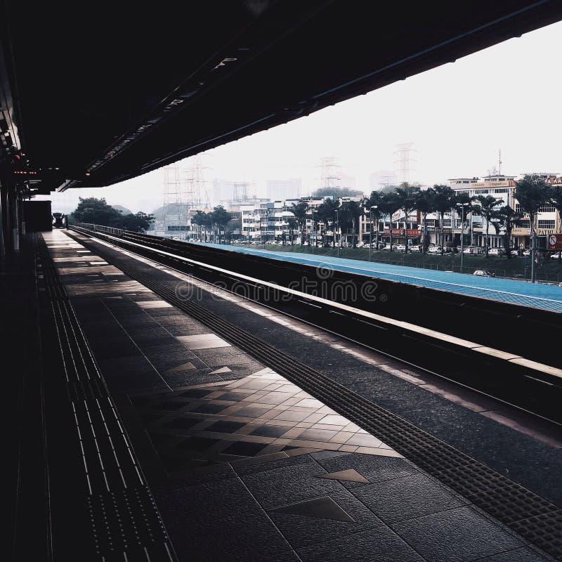 火车线 免版税库存图片