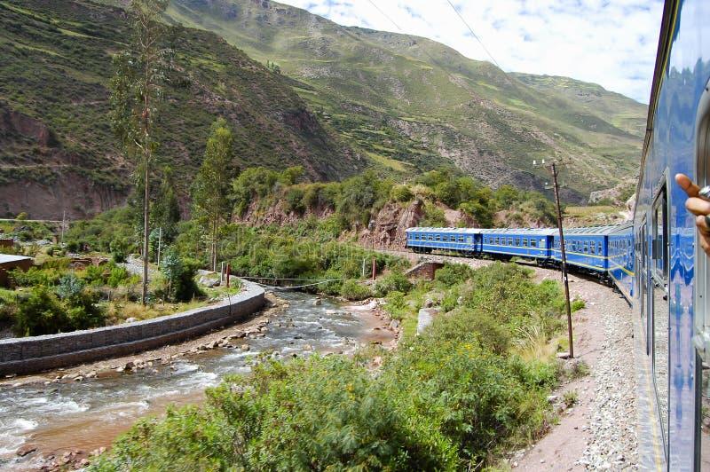 火车-秘鲁 库存图片