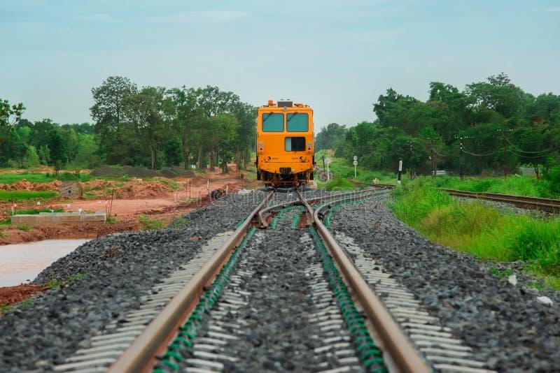 火车-车,货物运输,机车,铁路加州 库存图片