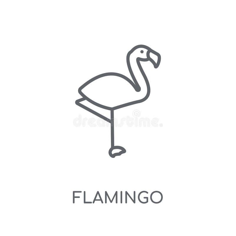 火鸟线性象 在wh的现代概述火鸟商标概念 库存例证