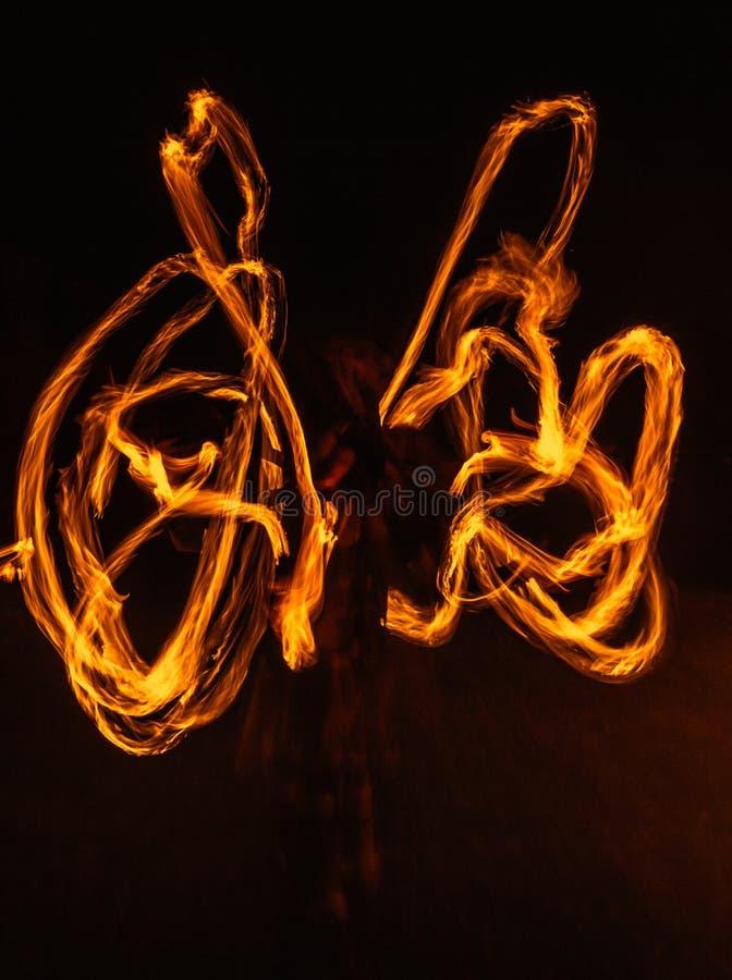 火symetrie 免版税库存图片