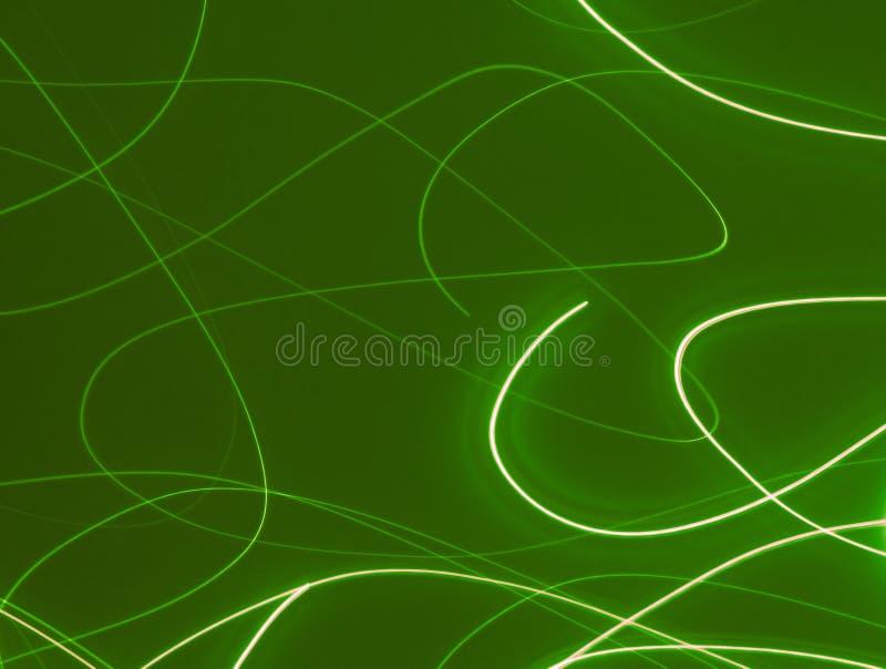 灯光管制线字符串 向量例证