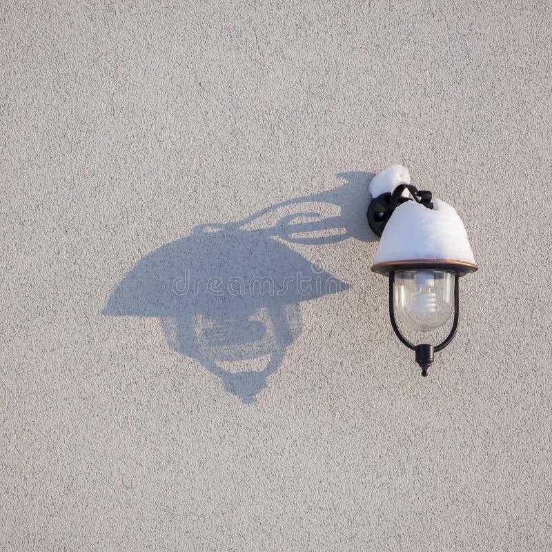 灯和阴影 库存图片