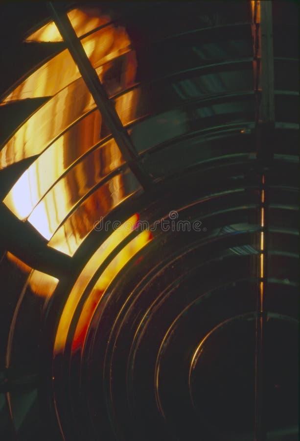 灯塔反射器 免版税库存照片