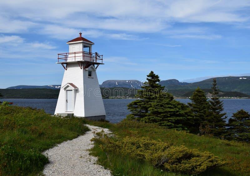 灯塔在伍迪点,格罗莫讷国家公园 库存照片