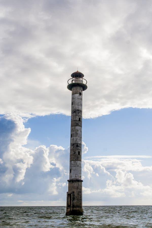 灯塔在爱沙尼亚 图库摄影