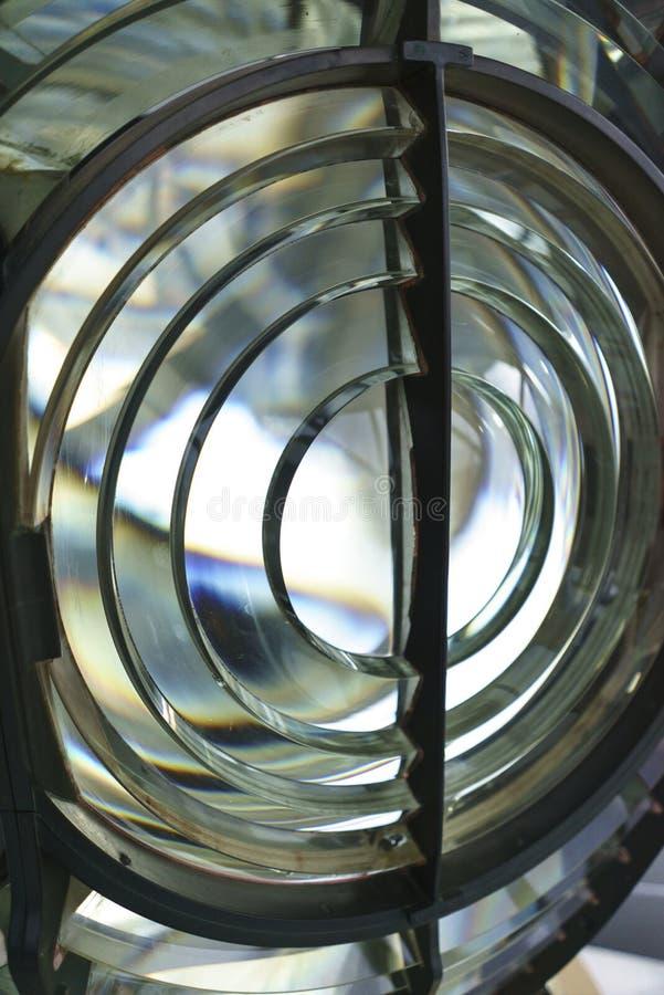 灯塔的大灯 图库摄影