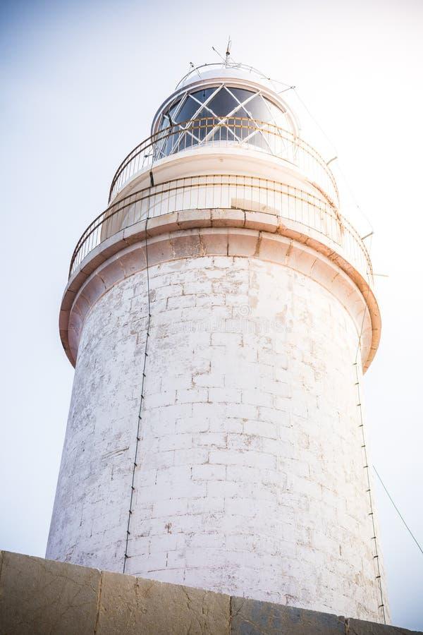 灯塔,盖帽formentor, majorca 免版税库存图片