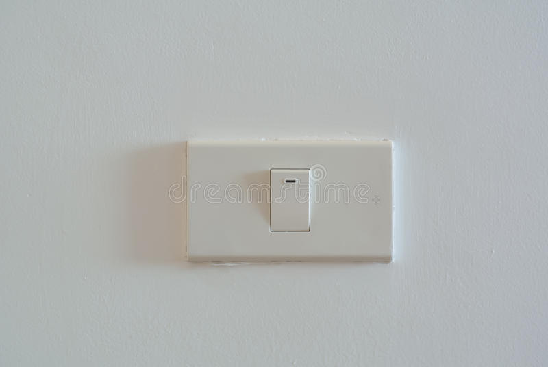 灯开关 库存图片