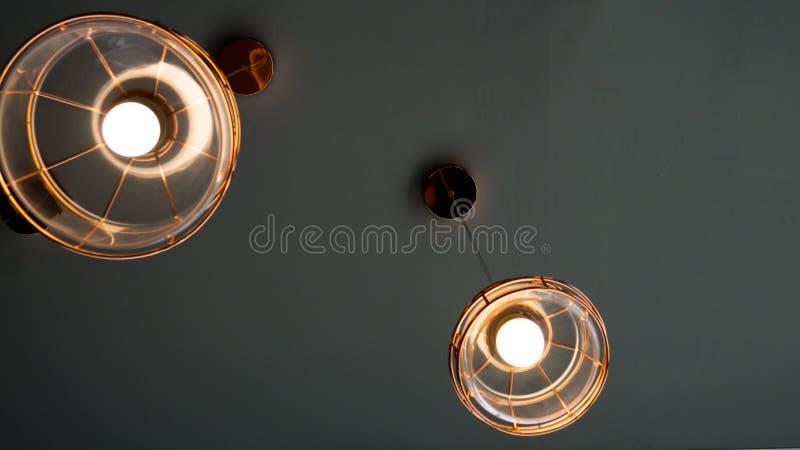 灯或光现代样式 免版税库存照片