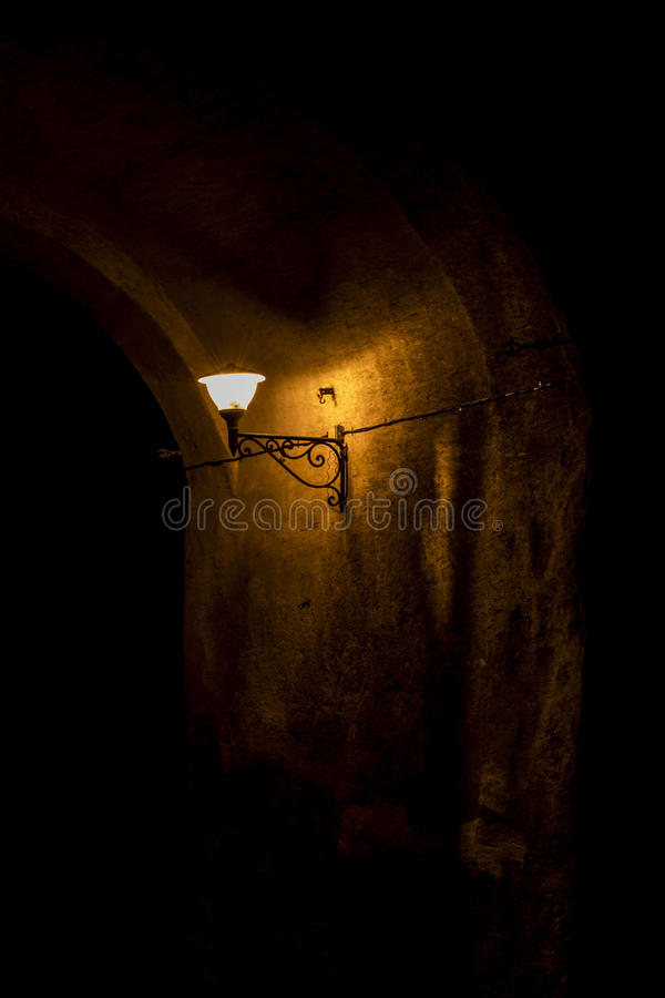 灯柱 库存照片
