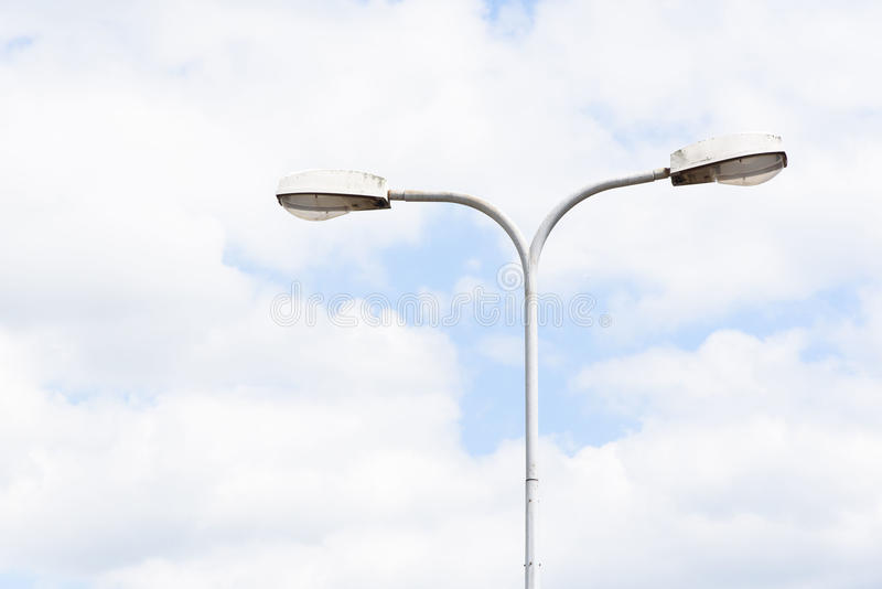 灯柱 免版税图库摄影
