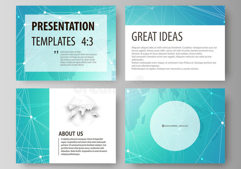 介绍幻灯片的编辑可能的布局的minimalistic抽象传染媒介例证设计事务 向量例证
