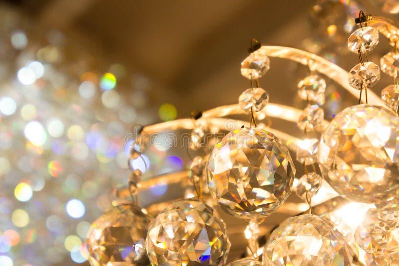 灯玻璃球闪耀的辅助部件  库存图片