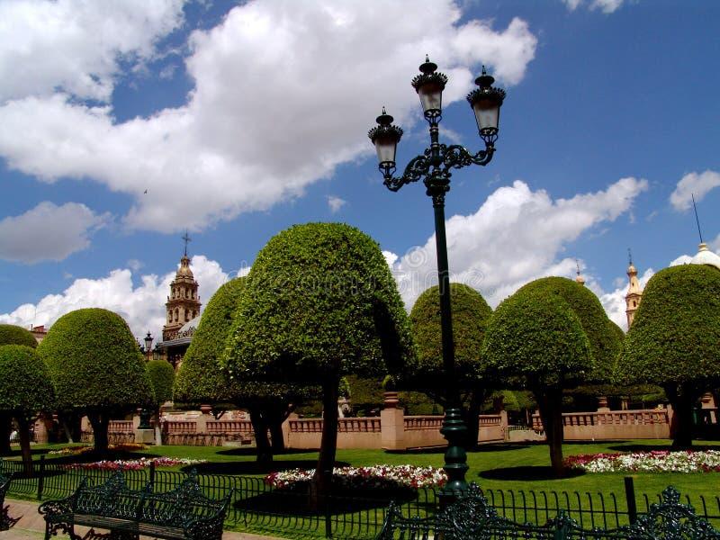 灯笼墨西哥广场 库存照片