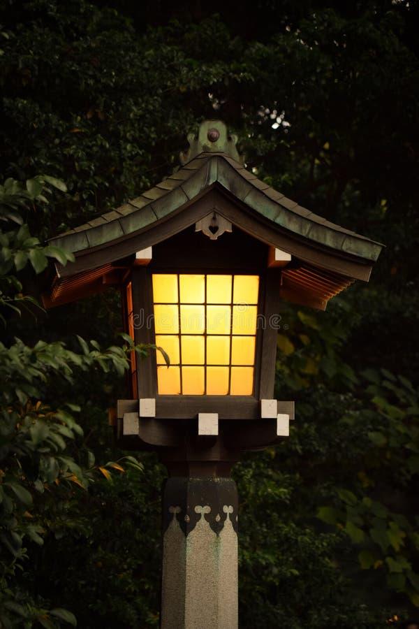 灯笼的温暖 图库摄影