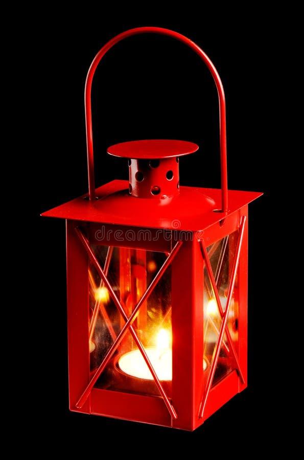 灯笼红色小 图库摄影