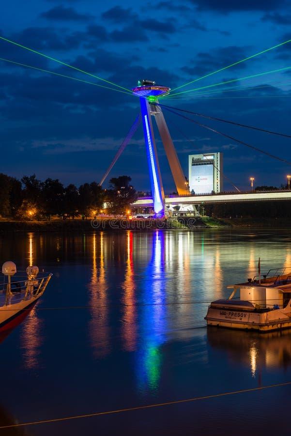 灯节在布拉索夫,斯洛伐克2016年 库存图片