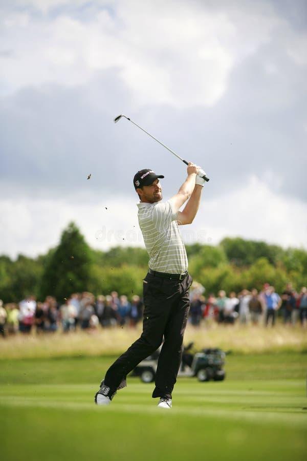灰俱乐部欧洲高尔夫球肯特伦敦开放pga 图库摄影