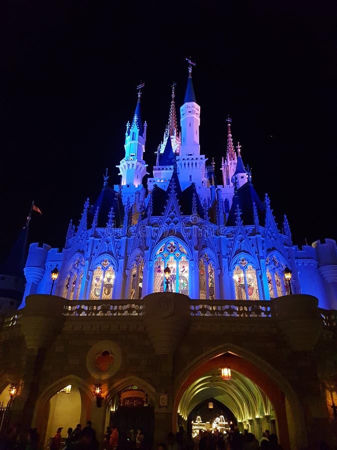 灰姑娘城堡 库存图片
