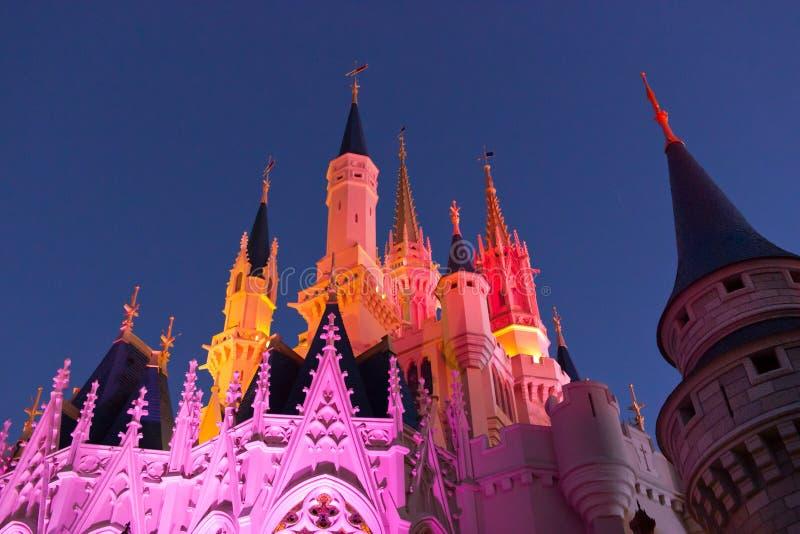 灰姑娘城堡 图库摄影