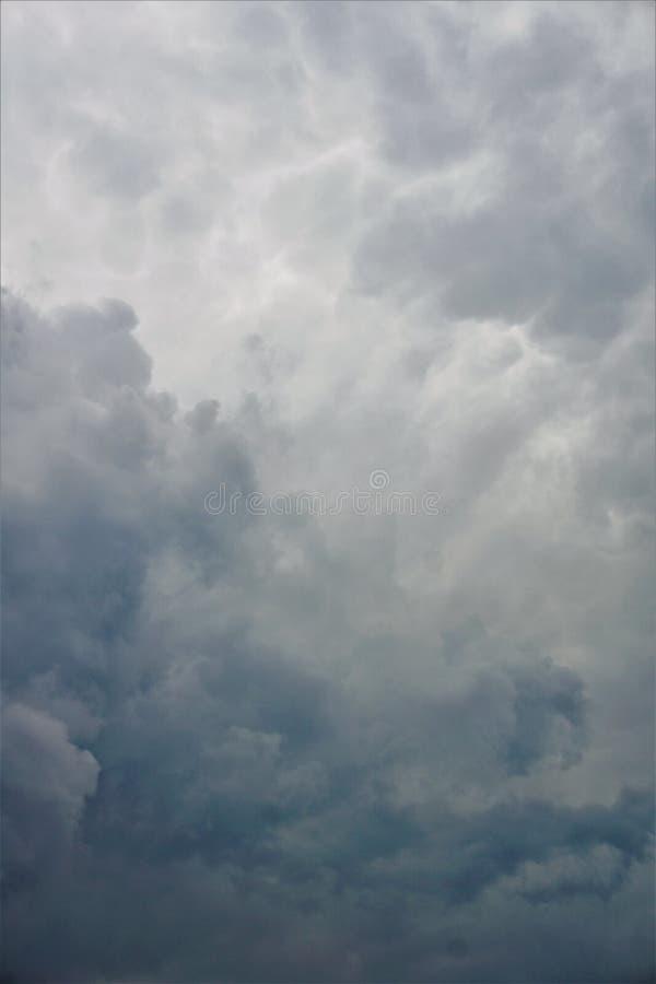 灰色云彩 图库摄影
