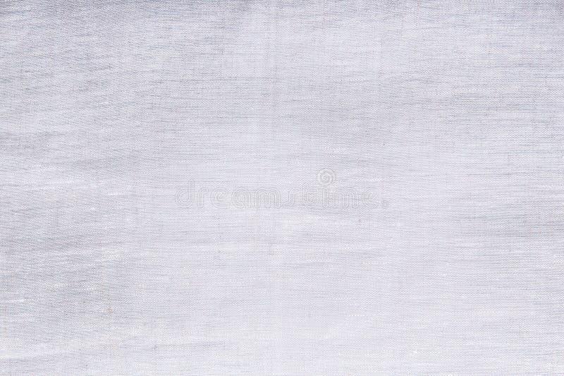 灰色亚麻制纹理 顶视图和拷贝空间 嘲笑 模式 模板和空白的背景 库存图片