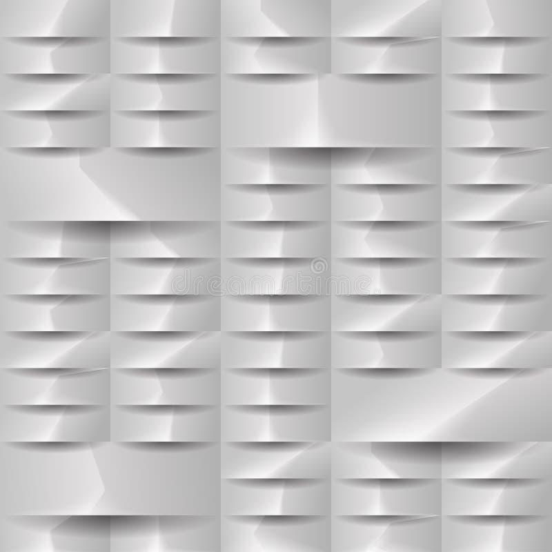 灰色几何纹理 传染媒介背景可以用于盖子设计 向量例证