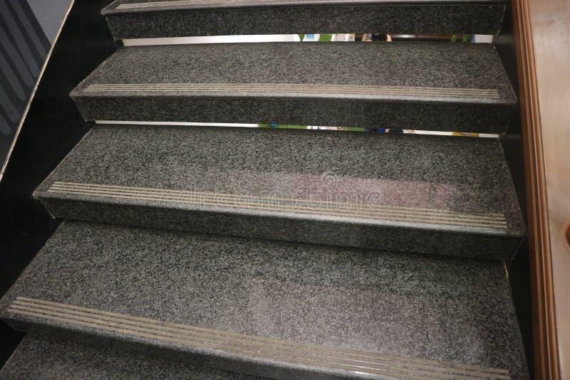 灰色台阶 库存照片