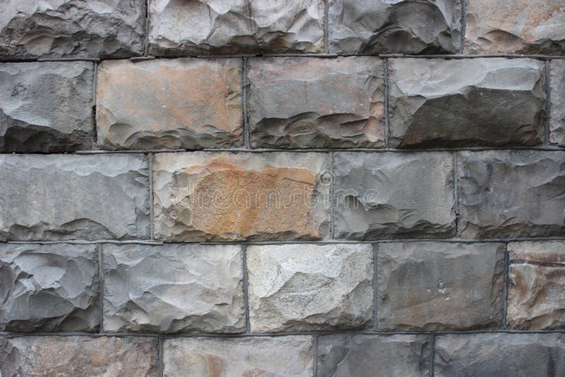 灰色周围石头,特写镜头 免版税库存照片