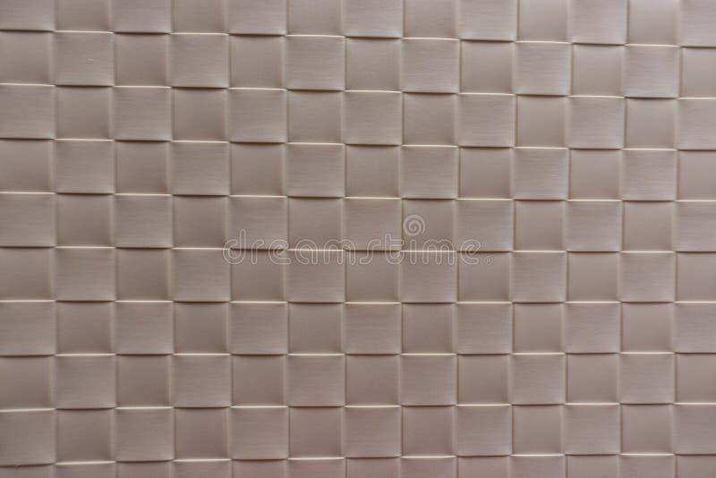 灰色塑料编织背景 库存照片