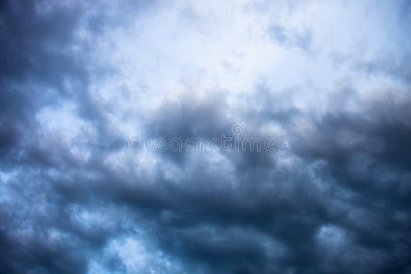 灰色多云天空 图库摄影
