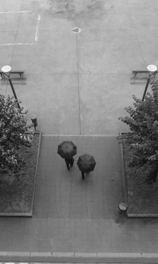 灰色天 图库摄影