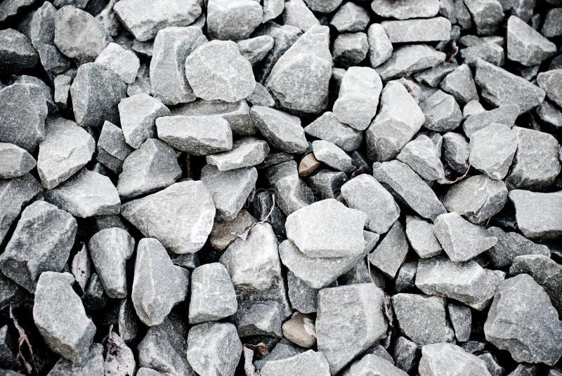 灰色小卵石 免版税库存照片
