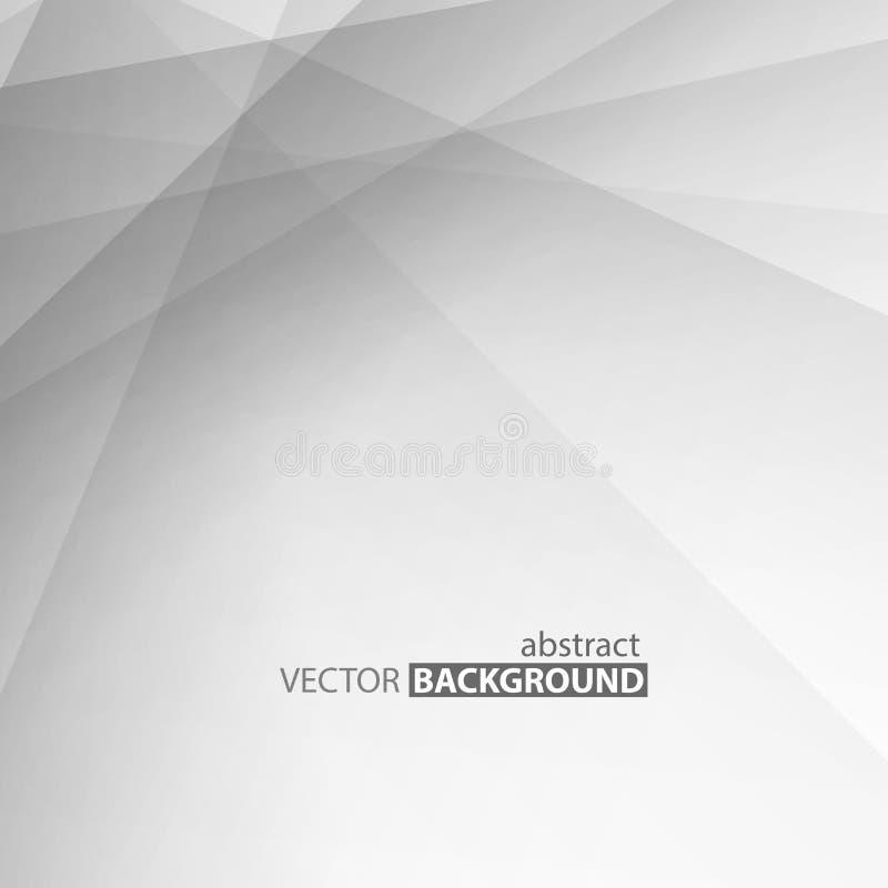 灰色抽象镶边bacground 传染媒介拷贝空间设计 皇族释放例证