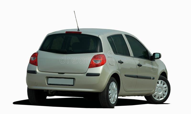 灰色斜背式的汽车 向量例证