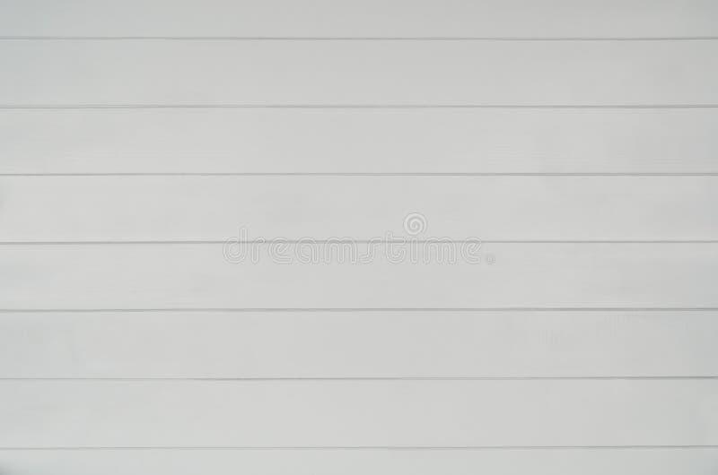 灰色木地板纹理背景 水平的板条样式 顶视图 免版税库存图片