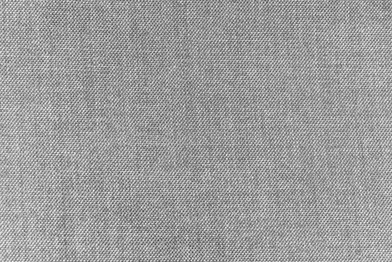 灰色棉花混纺织物纹理 免版税库存图片