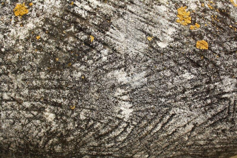 灰色棕色石纹理背景 库存图片