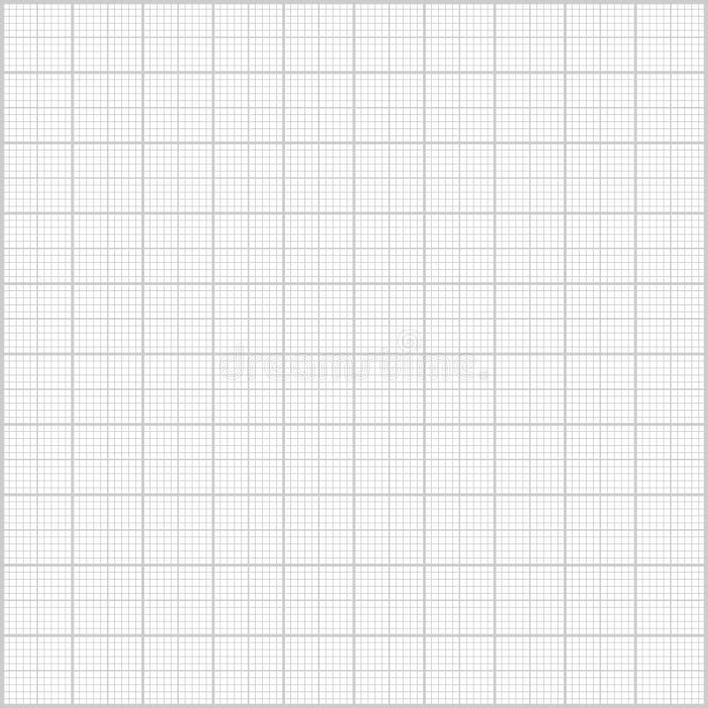 灰色毫米纸背景 向量例证