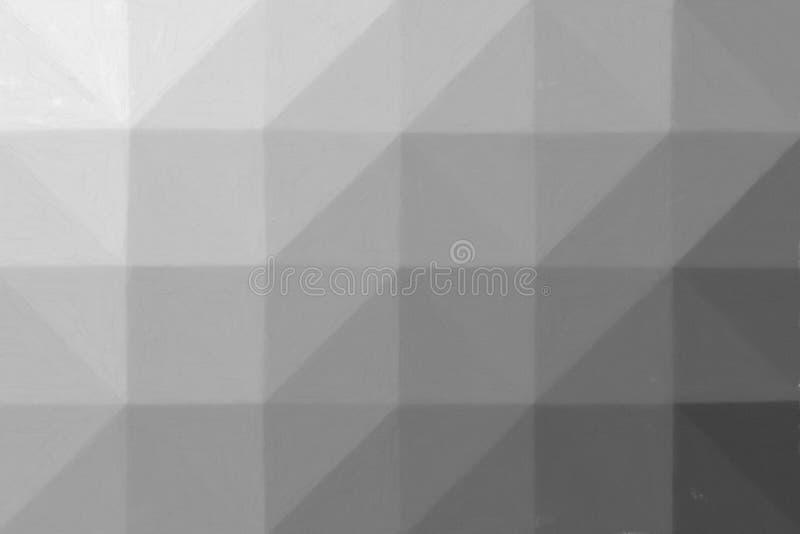 灰色水彩的可爱的抽象例证在coldpress纸油漆的 您的工作的可爱的背景 向量例证