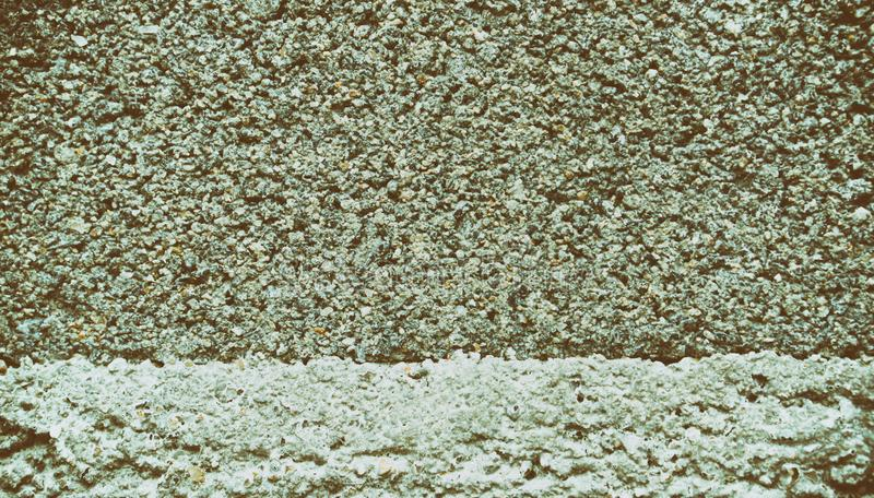 灰色混凝土墙葡萄酒颜色纹理困厄了难看的东西背景 免版税库存图片