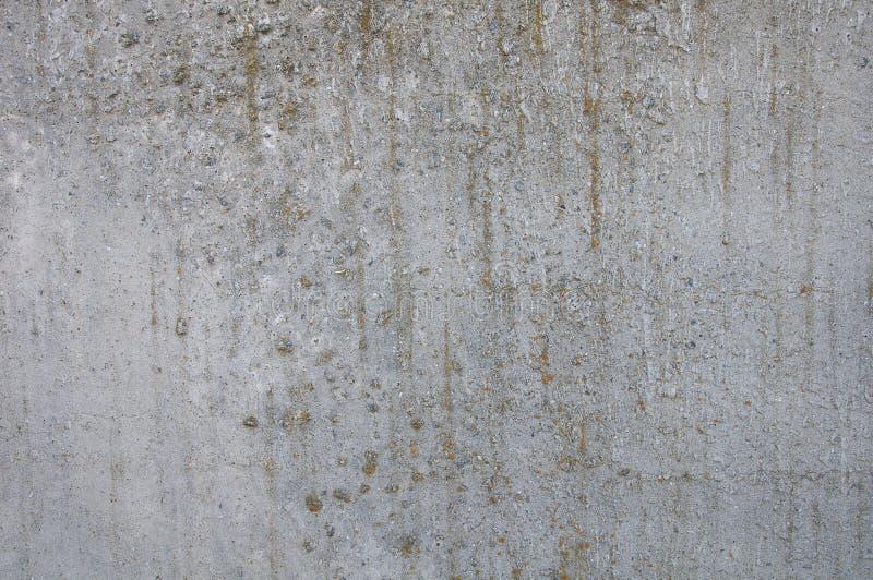 灰色混凝土背景和纹理  青苔隐蔽的解答小条 免版税图库摄影