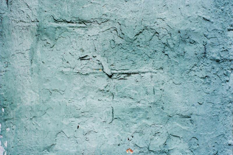 灰色灰泥的背景涂上了并且绘了水泥外部,粗砺的塑象  免版税图库摄影