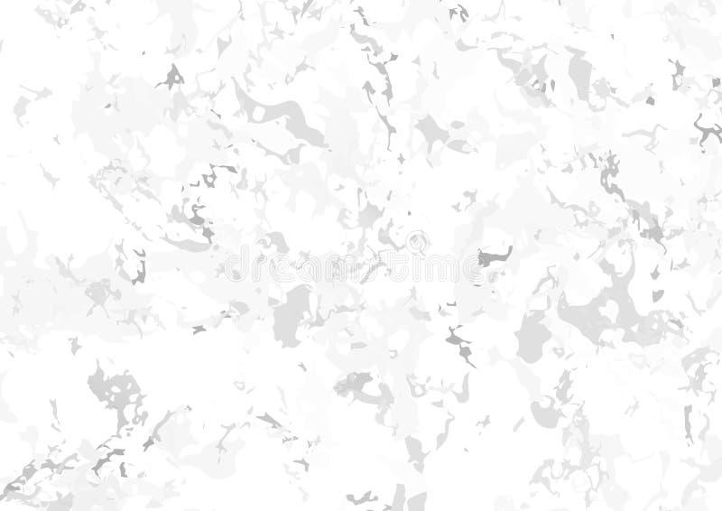 灰色白色摘要大理石石头地板背景 皇族释放例证