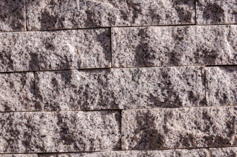 灰色石墙 库存图片