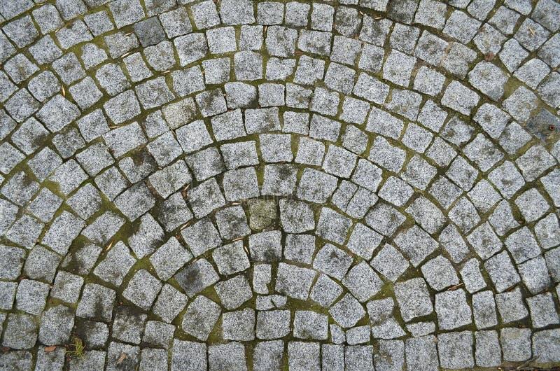 灰色石砖样式 免版税库存图片